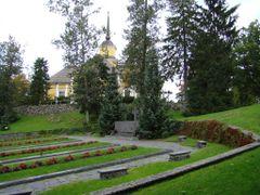 Nurmijarvi Old Church & War Cemetary by <b>PlamenB</b> ( a Panoramio image )