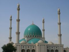 Mosque in Gok-depe  by <b>Atamurad Guchgeldi</b> ( a Panoramio image )