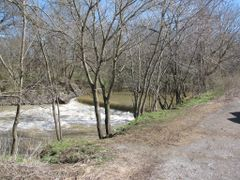 Harpeth River Dam Near Franklin, Tn. This dam was removed mid 20 by <b>tuttputt</b> ( a Panoramio image )