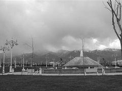 Jardin du monument de la Neutralite Achgabat by <b>Christian VIGNA</b> ( a Panoramio image )