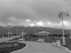 Garden of the monument of Neutrality Ashgabat by <b>Christian VIGNA</b> ( a Panoramio image )