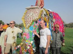 This festival is enjoyed by hundreds of tourists from India as w by <b>pradeep kumar chatterjee</b> ( a Panoramio image )