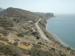 Mirtos - kustweg naar Ierapetra by <b>Ben de Graaf Bierbrauwer</b> ( a Panoramio image )