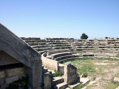 Lybia - Cyrene - Small theater by <b>Cottius</b> ( a Panoramio image )