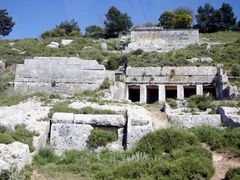 Lybia - Cyrene - One of the many tombs in the necropolis by <b>Cottius</b> ( a Panoramio image )