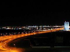 Шоссе ночью by <b>Sergey Abasov</b> ( a Panoramio image )