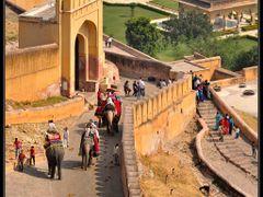 """>>> Jaipur - Rajasthan - India - """"Amber Fort"""" by <b>Karppanta</b> ( a Panoramio image )"""