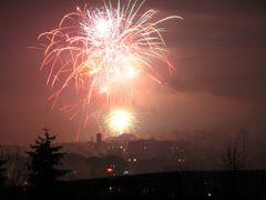 Revelionul 2007-2008 in Toplita / 2007-2008 szilvesztere Maroshe by <b>Denes Laszlo</b> ( a Panoramio image )