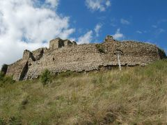 Ruins of Kapusansky Castle by <b>Karol Lesko</b> ( a Panoramio image )