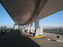 Gas station by <b>CarmelH</b> ( a Panoramio image )