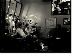 """The Spotted Cat"" on Frenchmen Street. by <b>Tomros - Pano</b> ( a Panoramio image )"