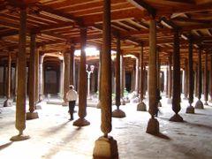 Khiva-Juma-mosque by <b>Perinic D</b> ( a Panoramio image )