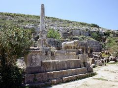 Cyrene - The monumental fountain by <b>Cottius</b> ( a Panoramio image )
