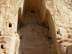 Bamian_empty niche after Buddha by <b>davidadamex</b> ( a Panoramio image )