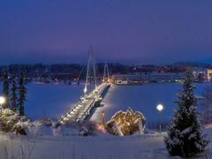A Winter?s Evening, Ylistonrinne, PANORAMA, 18.1.2012, 16:11 by <b>jknaus</b> ( a Panoramio image )