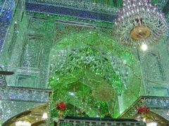 Shiraz-Shah Sheragh mausoley-interior by <b>Perinic D</b> ( a Panoramio image )
