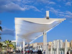 entrada Sur al nuevo puerto de Malaga by <b>ramtto</b> ( a Panoramio image )