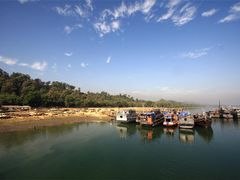 Naff river channel, Teknaf jetty by <b>Mohammad M Rahman</b> ( a Panoramio image )