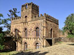 Gondar, Gemp, Palace of Mentewab (1730-1755) by <b>M.Bocherer</b> ( a Panoramio image )