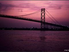 Twilight Bridge by <b>Rein Nomm</b> ( a Panoramio image )