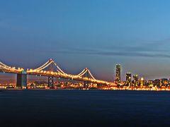 San Francisco at Night from Treasure Island by <b>Joe_Lourenco</b> ( a Panoramio image )