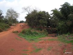 Nice river where wash ourselves. The track and the dust is almos by <b>courtoism</b> ( a Panoramio image )