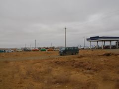 gasolin station on the road by <b>senfi</b> ( a Panoramio image )