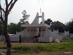 Memorial de BOGANDA ( le pere fondateur de la republique centraf by <b>courtoism</b> ( a Panoramio image )