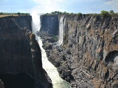 Zambeze and Victoria falls or Mosi-Oa-Tunya from Zambia by <b>diego_cue</b> ( a Panoramio image )