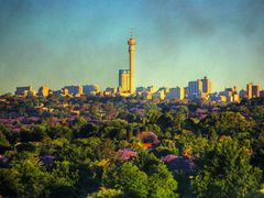 Looking south towards Johannesburg by <b>j. adamson</b> ( a Panoramio image )