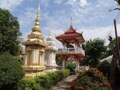 Vientiane - Laos -  Wat Ho Phra Keo by <b>AnaMariaOss</b> ( a Panoramio image )