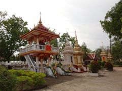 Vientiane - Laos - Wat Si Saket by <b>AnaMariaOss</b> ( a Panoramio image )
