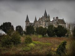 Chateau Noisy - the first sight we had  by <b>boehle</b> ( a Panoramio image )