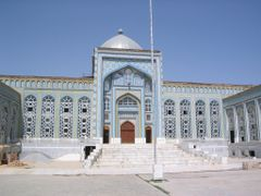 Mosque in Dushanbe by <b>etasar</b> ( a Panoramio image )