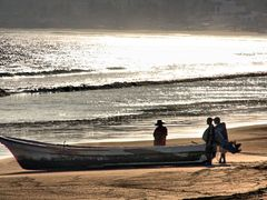 Reflejos al atardecer, Punta Perula / Reflections at sunset, Pun by <b>galfer</b> ( a Panoramio image )