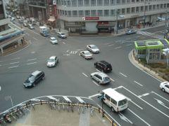 Egawacho Crossing by <b>Kuboshi</b> ( a Panoramio image )