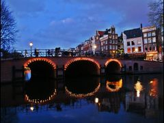 Blue Hour Reflection - Amsterdam - By Chio.S by <b>Stathis Chionidis</b> ( a Panoramio image )
