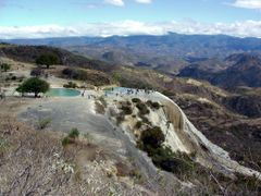 Hierve el Agua by <b>J. Ramos</b> ( a Panoramio image )