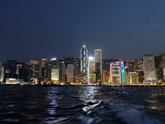 Central District Night Skyline by <b>ChiefTech</b> ( a Panoramio image )