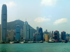 Hong Kong Island Skyline Panorama by <b>ChiefTech</b> ( a Panoramio image )