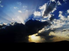 Cloud monster and sun by <b>Mher Ishkhanyan</b> ( a Panoramio image )