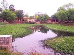A Small Lake Meeranpur by <b>Jawed Hasan</b> ( a Panoramio image )