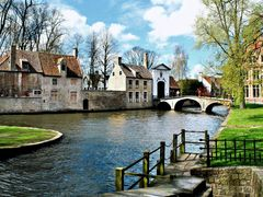 Minnewater, Bruges/Brugges by <b>?Rosa?</b> ( a Panoramio image )