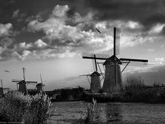Kinderdijk. Evening  by <b>Edward Galagan</b> ( a Panoramio image )