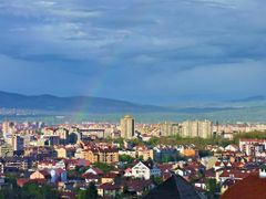 "Pogled na Nis od hotela ""Aleksandar"" / Look to Nis from hotel ""A by <b>tosa43</b> ( a Panoramio image )"