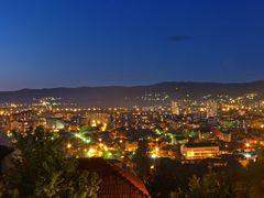 "Pogled na Nis od hotela ""Aleksandar"" by <b>tosa43</b> ( a Panoramio image )"
