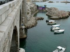 Marseille. The bridge across the bay Auffes. Марсель. Мост через by <b>Buts_YV</b> ( a Panoramio image )
