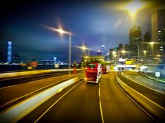 Full Speed Ahead: Western Harbour Tunnel Crossing by <b>Faintlightofdawn</b> ( a Panoramio image )