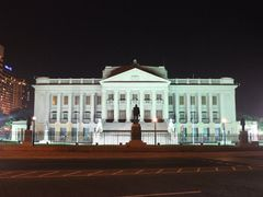 Sri Lanka old parliament @ night by <b>Dr.Azzouqa</b> ( a Panoramio image )