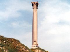 "Pompey""s Pillar (photo 10/03/2002) by <b>ssiatravani</b> ( a Panoramio image )"